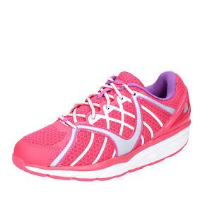 scarpe-donna-MBT-36-EU-sneakers-rosa-tessuto-dynamic-BX895-36