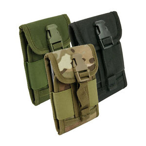 Tactical Smartphone Holder - iPhone Samsung Windows etc Mobile Phone Pouch Case