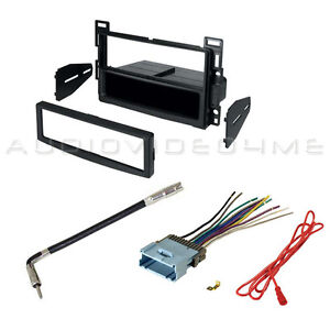 details about 2004 2007 chevrolet malibu radio install dash kit wiring harness antenna adapter 1998 chevy silverado radio wiring diagram radio without a wiring harness adapter