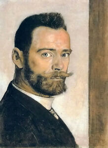 Art-Oil-painting-ferdinand-hodler-Figures-portrait-artist-self-portrait-canvas