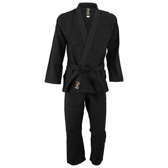 Playwell Perla Weave Bjj Gi Nero Uniforme Arti Marziali Ju Jitsu Ideale Jiu