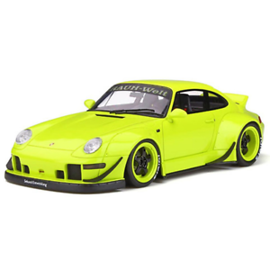 GT Spirit 1 18 Porsche RWB 993 Duck Tail Hardtop KJ026 NIB Resin modello