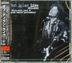 BOB-DYLAN-BOB-DYLAN-LIVE-1961-2000-THIRTY-NINE-YEARS-OF-GREAT-JAPAN-CD-F30