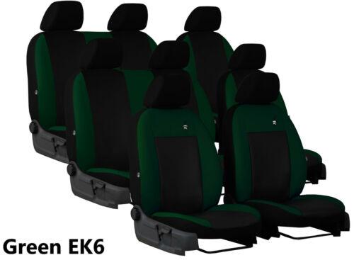 Ford Tourneo Custom 8 asientos 2016 2017 2018 2019 Eco Cuero A Medida Fundas De Asiento