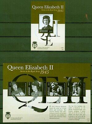 Mikronesien Micronesia 2012 - Queen Elizabeth In Uniform - 2323-26 + Block 213