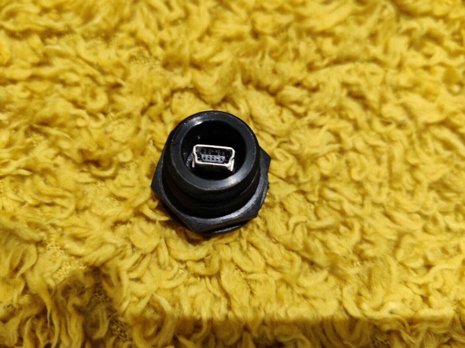 BULGIN PX0447 MINI USB TYPE B, RECEPTACLE, PANEL, THT
