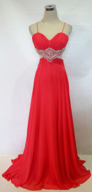 NINA CANACCI 6002 Watermelon $393 Pageant Prom Gown 0 - NWT