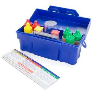 5 Way Swimming Pool Spa Water Chemical Test Kit Chlorine