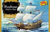 Lindberg Mayflower Pilgrim Ship 1/250 Scale Plastic Model Kit 215