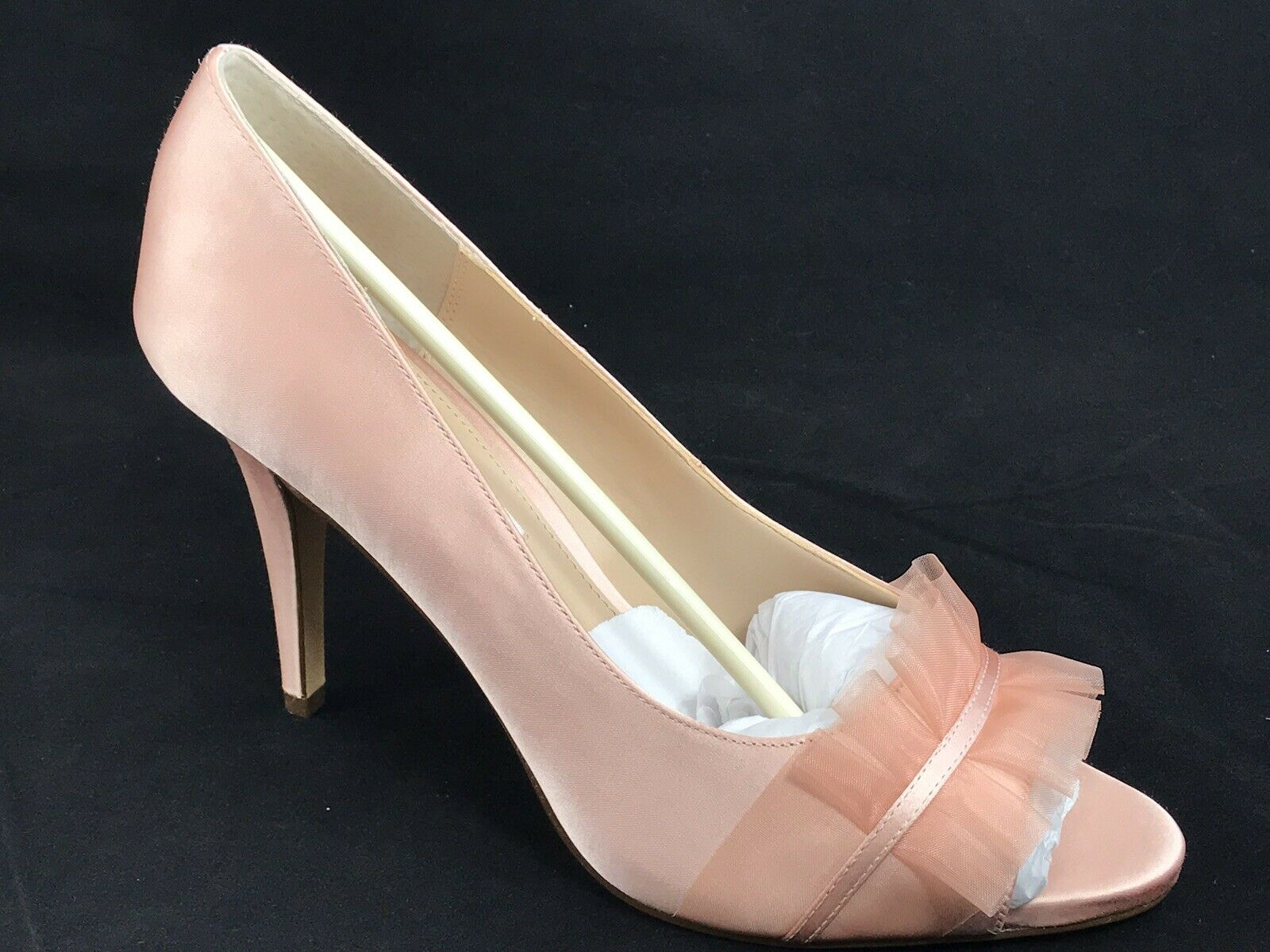 Nina New York Raizel Peep Toe Wedding Pump Heel Size 9.5 M bluesh NEW