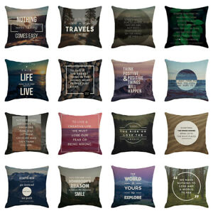 Am-GT-Wisdom-Letters-Phrase-Pillow-Case-Linen-Cushion-Cover-Sofa-Bedroom-Decor