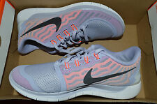 New Nike Womens Free 5.0 Run Running Shoes 724383-502 sz 8.5 Titanium