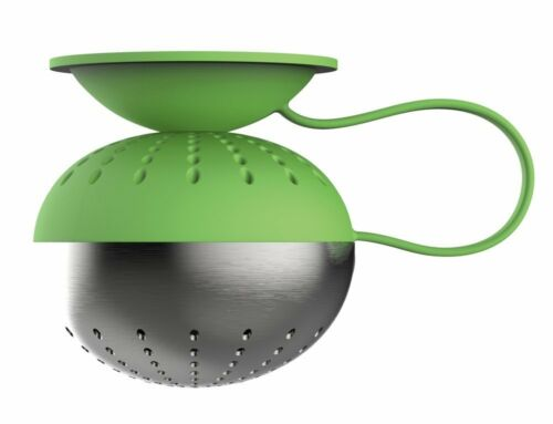 Magisso Magnetic Silicone /& Stainless Steel Tea Ball Infuser Green