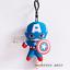 MINISO X Marvel Autentico Hulk Loki Capitan America Iron man Portachiavi Peluche