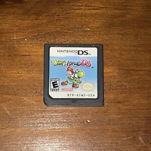 Yoshi-039-s-Island-DS-Nintendo-DS-2006-Authentic-Game-Cartridge-TESTED-WORKS