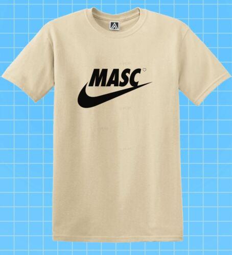 Masc swoosh t-shirt gay lgbt fem indie tee pride fond drag race dom top