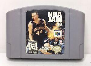 Nintendo-64-N64-NBA-Jam-99-Video-Game-Cartridge-Authentic-Cleaned-Tested