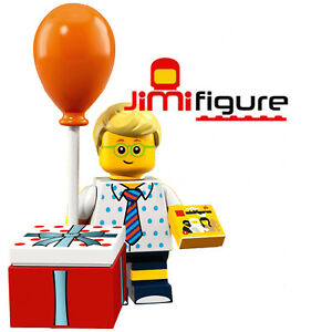 NEW-LEGO-Minifigures-Birthday-Party-Boy-Series-18-71021-Genuine-Sealed-Figure