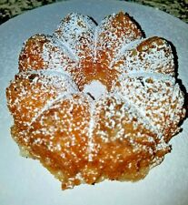 """Vanilla Rum Cake - Homemade w walnuts 5"""" ask for other flavors"""