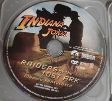 Indiana Jones Raiders of the Lost Ark (RARE PROMOTIONAL DVD)-PLEASE READ BELOW