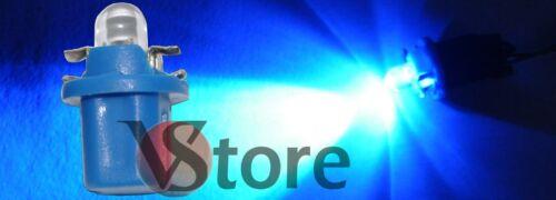 10 LED T5 B8.5D BLU Lampade Lampadine Luci Per Cruscotto Quadro Strumenti 12V