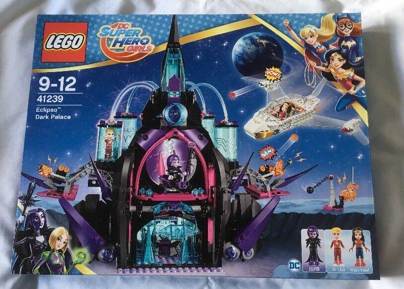 LEGO DC Super Hero filles ECLIPSO Dark Palace Set 41239 de 2017  NEUF