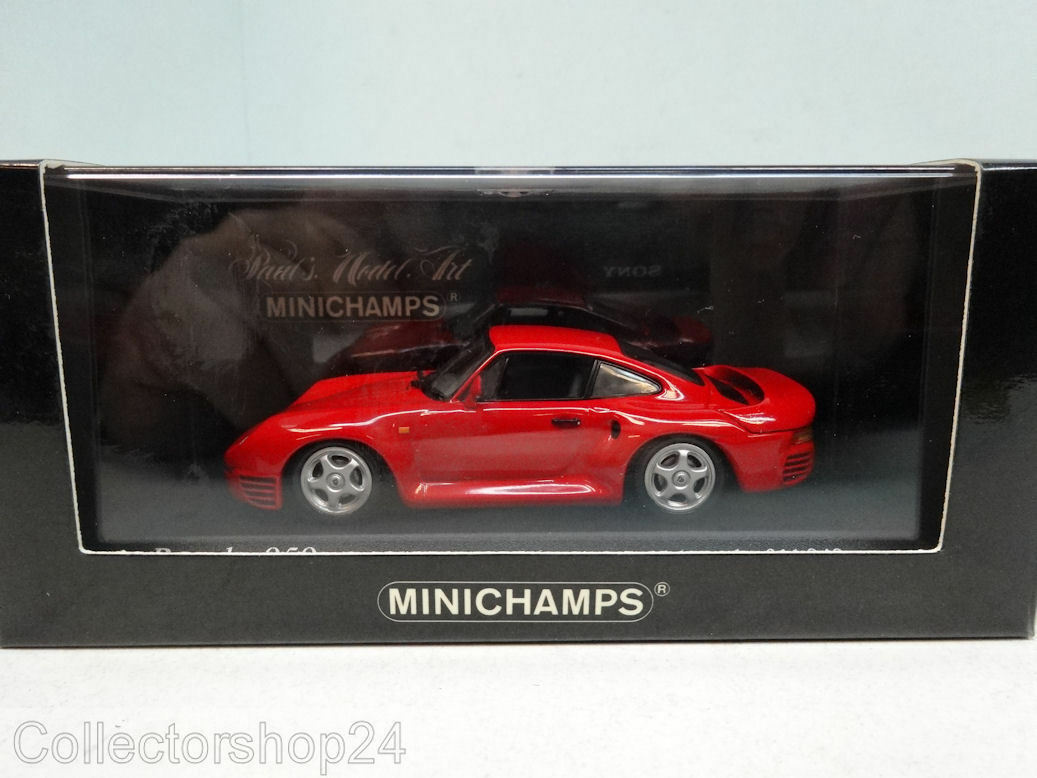 Minichamps   Porsche 959 1987 Red - 400062521