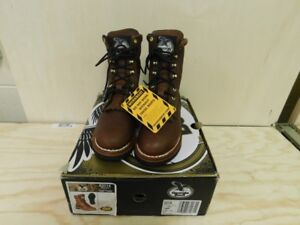 Georgia-G3114-Women-039-s-Size-5m-SPR-Work-Leather-Boots-Brand-New-in-Box