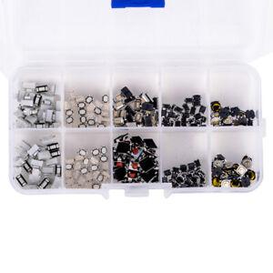 250Pcs-Set-Boton-Interruptor-tactil-coche-remoto-clave-boton-Micro-Caja-del-kit