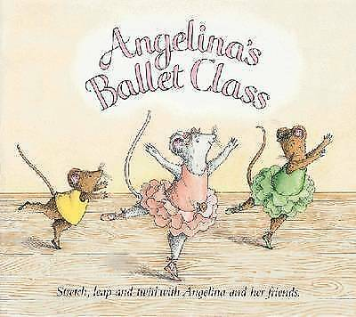Angelina's Ballet Class (Picture Puffin) by Katharine Holabird, Good Book (Paper
