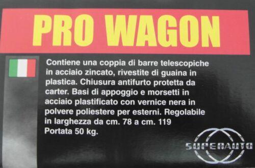 BARRE PORTATUTTO PRO WAGON 4373009 RENAULT KOLEOS MADE IN ITALY
