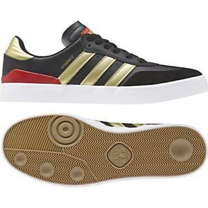 Details about Adidas Busenitz Vulc RX Black/Gold Metalic/Scarlet Mens Trainers UK 8