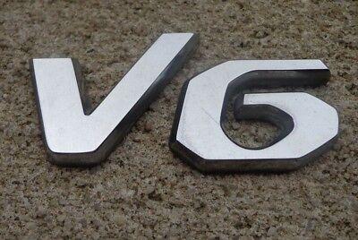 Hyundai Santa Fe V6 emblem letters badge decal logo symbol OEM Factory Stock