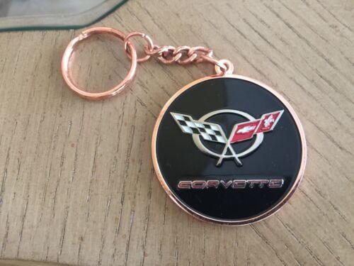 Chevrolet C5 Corvette Medallion Keychain