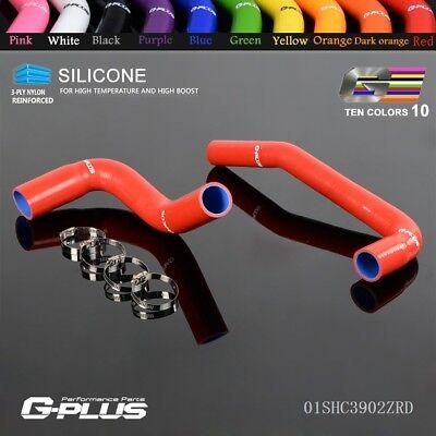 Silicone Radiator Hose Kit For 1987-2006 JEEP WRANGLER YJ/ TJ 2.4/4.2L Red