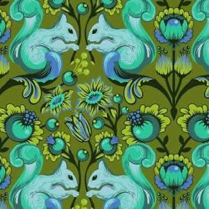 Free-Spirit-Tula-Pink-All-Stars-Fern-Squirrel-PWTP028-Cotton-Fabric-BTY
