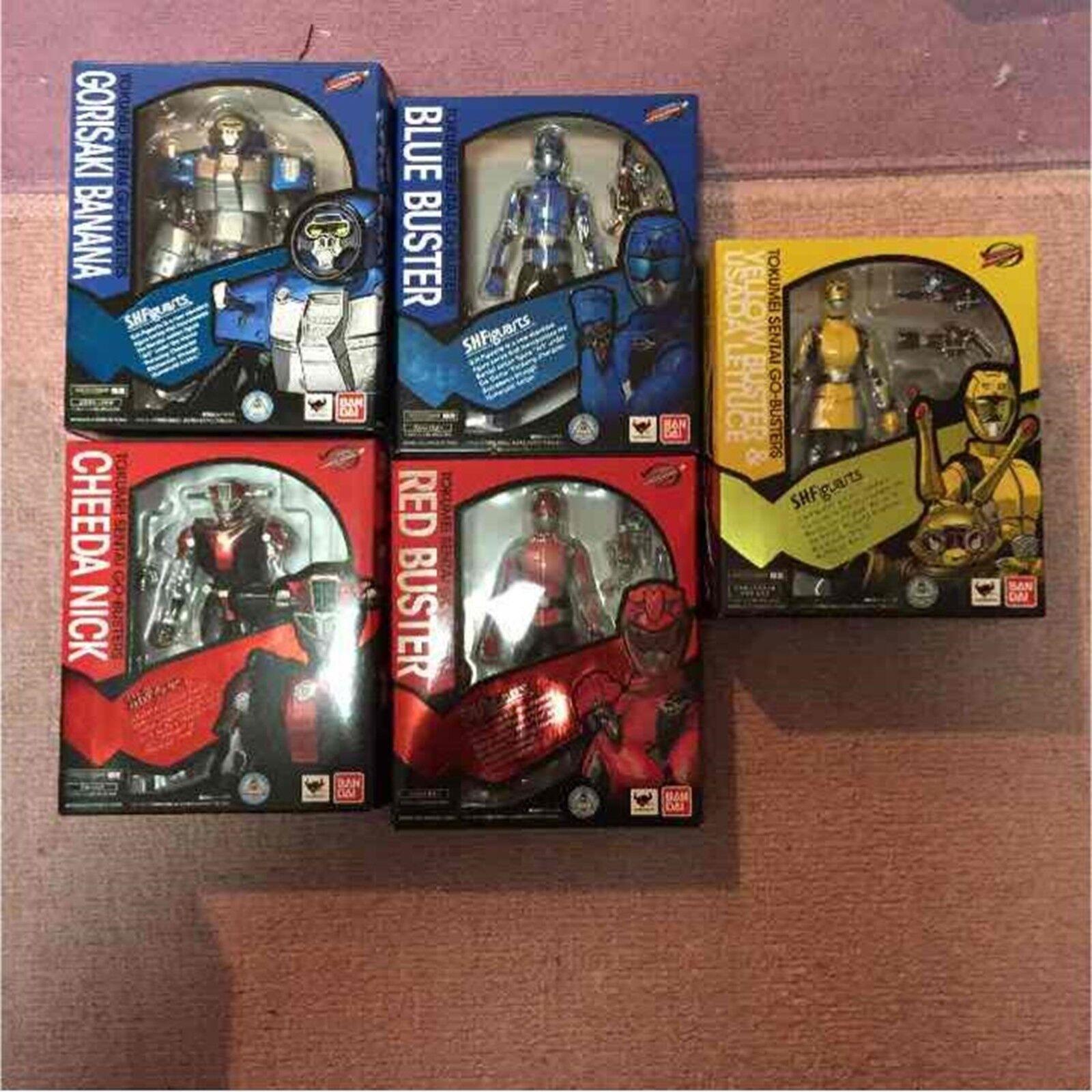 BANDAI S.H.Figuarts Power Rangers Beast Morphers Full Set 145 mm NEW HERO