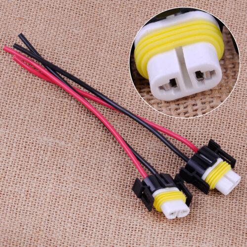 2pcs H11 H8 880 881 Female Connector Socket Ceramic Plug For Headlight Fog Light