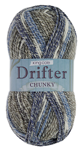 Various Colours** Drifter CHUNKY **KING COLE
