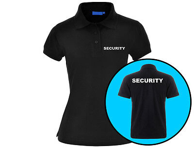 Embroidered Security Womens Premium 210 Gram Polo Shirt Workwear (6 Colours) äSthetisches Aussehen