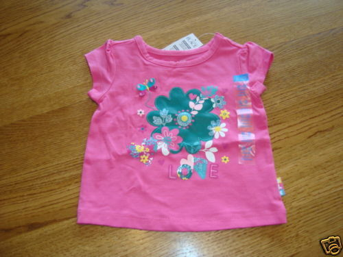 The Children/'s Place girls 24 month pink TEE T shirt NWT ^^