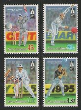 New Zealand #1244-1247 (SG #1850-1853) VF MNH - 1994 Cricket In New Zealand