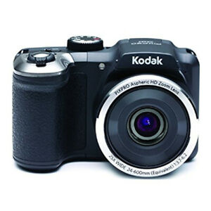"Kodak PIXPRO AZ252 Point & Shoot Digital Camera with 3"" LCD, Black"