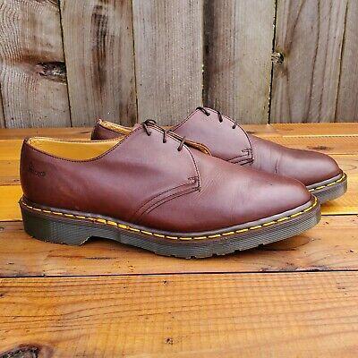 70's Vintage Dr Martens 3 eye boots 9 doc BROWN oxblood