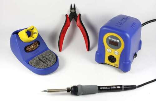 Hakko Digital FX888D /& CHP170 bundle includes Soldering Station /& CHP170 cutter