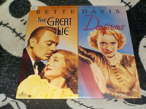 The-Great-Lie-amp-Dangerous-Laserdisc-Ld-Bette-Davis-Ordini