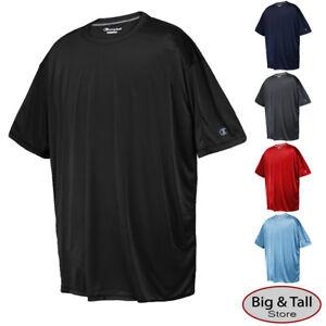 08694807 Big & Tall Men's Champion Vapor Tech Athletic T-Shirt 3XL - 6XL 3XLT ...