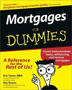 Mortgages-For-Dummies-For-Dummies-Lifestyles-Paperback-by-Eric-Tyson-Ray-Br