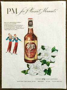 1947-PM-De-Luxe-Blended-Whiskey-Print-Ad-For-Pleasant-Moments-Waiter-Bellhop