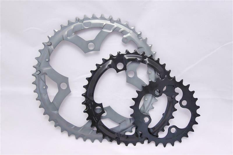 Shimano Deore fc-m591 48 36 26 Chain Leaves Chainring Set fc-m590 NEW